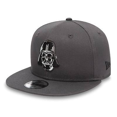 80489315, Gorra New Era – 9Fifty Star Wars Ess Dart Vader gris, Niños, 2017, Alg