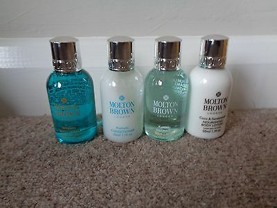 Molton Brown Selection Of Toiletries X 4 Each 50Ml