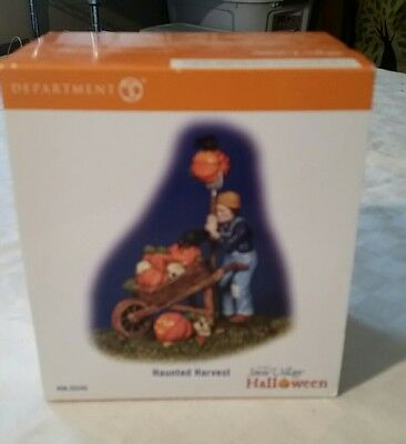 Dept 56 SNOW VILLAGE Halloween HAUNTED HARVEST - Boxed 55245