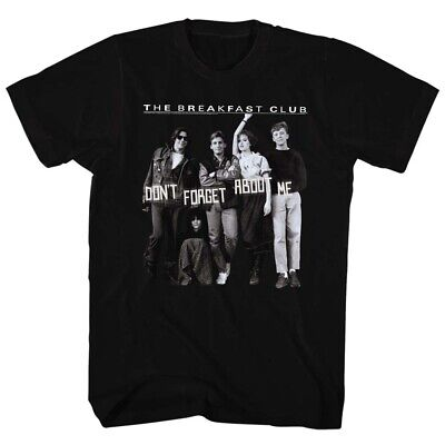 Breakfast Club Teen Comedy Movie Don't Forget About Me Adult T-Shirt Tee