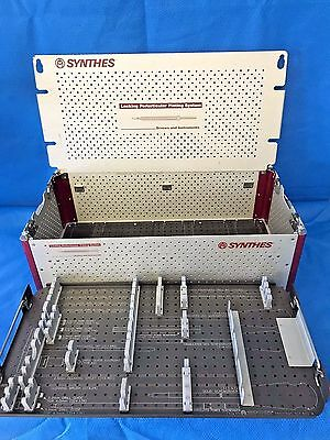 Synthes 690.301, Locking Periarticular Plating System Case Only, No Screw Racks