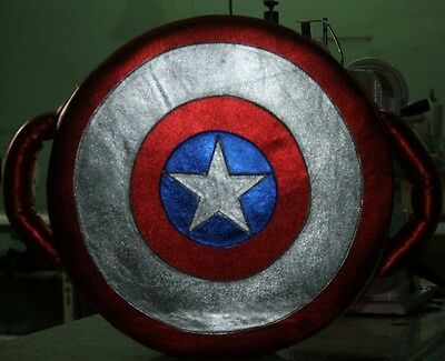 TopBoxer Captain America Punch Shield Striking Pad