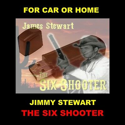 Enjoy Jimmy Stewart As The Six Shooter In Your Car Or Home. Old Time Radio Shows