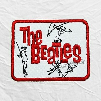 The Beatles A Hard Day's Night Logo Embroidered Patch John Lennon Paul McCartney