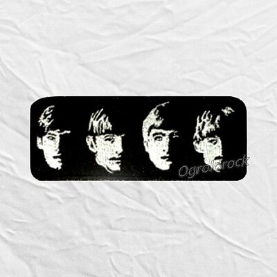 The Beatles With The Logo Embroidered Patch John Lennon Paul McCartney Ringo