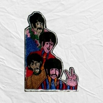 The Beatles Yellow Submarine Rock Band Embroidered Patch John Lennon Paul Ringo