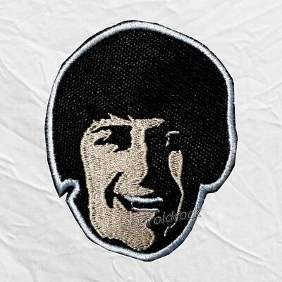 The Beatles Ringo Starr Help! Face Embroidered Patch John Lennon George Paul