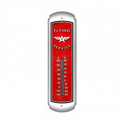 Flying A Service Thermometer - Hand Made in the USA with American Steel