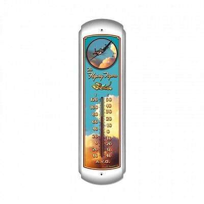 The Flying Tigers Thermometer - Hand Made in the USA with American Steel