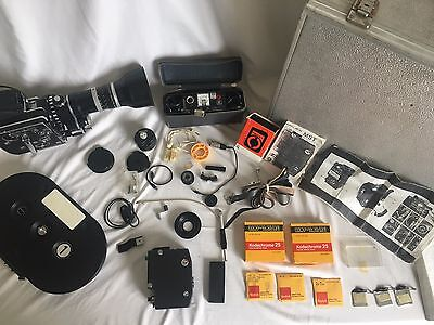 Bolex SBM 16mm Kit with original case and many accessories (B+ condition)