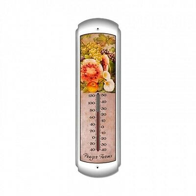 Frazer Fruit Farm Thermometer - Hand Made in the USA with American Steel