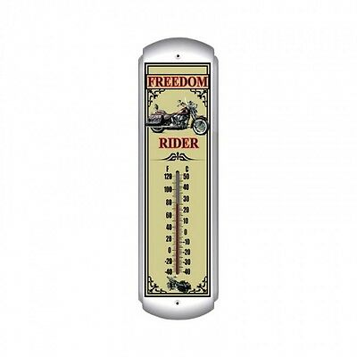 Freedom Rider Thermometer - Hand Made in the USA with American Steel