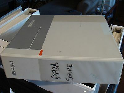 Agilent / HP 5372A Frequency & Time Interval Analyzer Service Manual