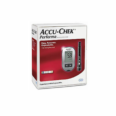 Accu-Chek Performa Ii Blood Glucose Meter And Lancing Device