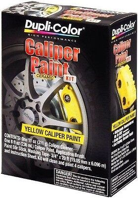 Duplicolor Brake Caliper Paint Kit (Yellow) FREE PRIORITY SHIPPING