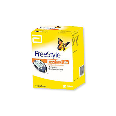 Abbott Freestyle Freedom Lite Blood Glucose Monitoring System
