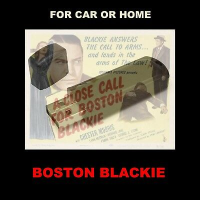 Enjoy Boston Blackie In Your Car Or Home. 202 Old Time Radio Detective Shows!