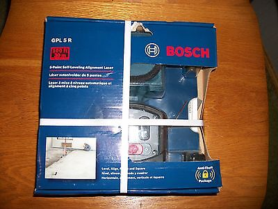 *BOSCH 5 Point Self Leveling Alignment Laser #GPL5R BRAND NEW FREE SHIPPING*