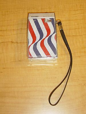 Sharp BP-120 AM Transistor Radio 1965 Osaka Japan