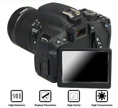 Tempered Glass Screen Protector for Canon 750D 760D 700D Camera