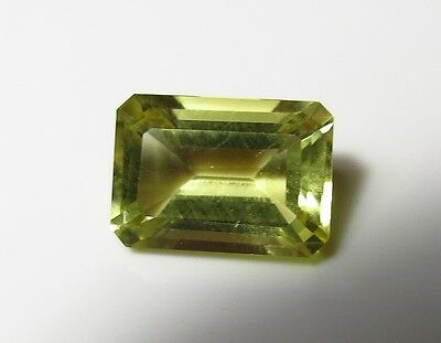 14x10 mm FACETED YELLOW CITRINE natural OCTAGON CUT LOOSE GEMSTONE