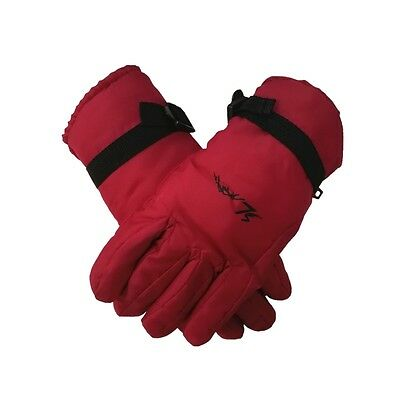 Women Ski Gloves  Waterproof Full Finger Glove Adult Cold Weather Winter Snow