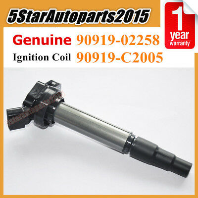 Genuine Ignition Coil 90919-02258 fits Toyota Corolla Matrix Prius Scion xD 1.8L
