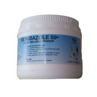 Pigeon Product - Ronidazole 50 - Canker - by Pantex