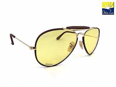 Ray Ban Aviator Craft 3422Q 9042/4A Ambermatic Fotocromatico  Sunglasses 90424A