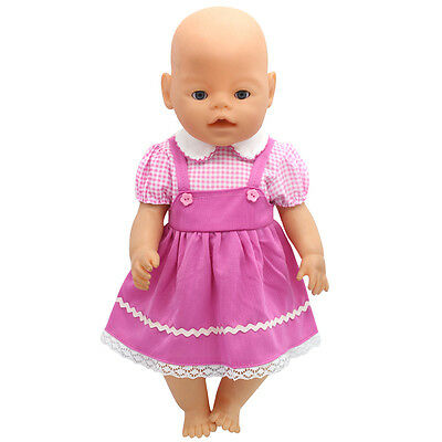 1set Doll Clothes Wear for 43cm Baby Born zapf (only sell clothes ) MG-212
