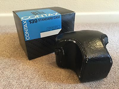Contax 139 Leather Camera Case - Boxed
