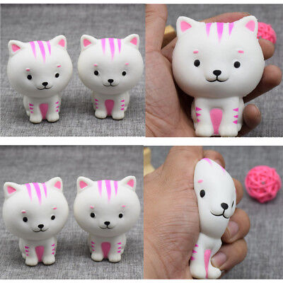 8.5CM Little Cat Cream Scented Squishy Slow Rising Fun Toy Kill Time US Stock
