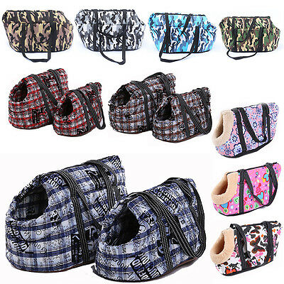 10 Colors Pet Shoulder Bag Portable Puppy Dog Cat Carry Carrier Bags Handbag