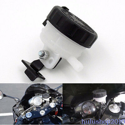 New Brake Reservoir Front Fluid Bottle Motorcycle Master Cylinder Bracket Sale