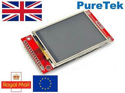 "2.4"" 240x320 SPI TFT LCD Touch Panel ILI9341 5V 3.3V for Arduino RPi ESP8266 etc"