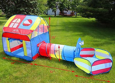 Kids Play House Children Toy Tent House Indoor Outdoor Baby Kids Boys Girls Game