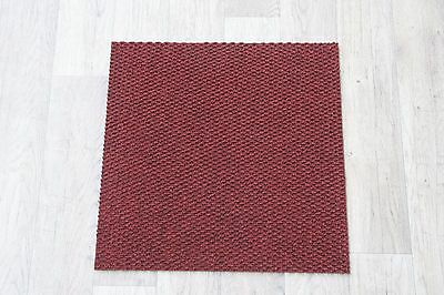 Quality Carpet Tiles Commercial / Domestic Retail Flooring Hong Kong Red