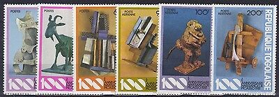 1981 Togo 1559-1564 A Picasso / Paintings postfrisch (MNH)