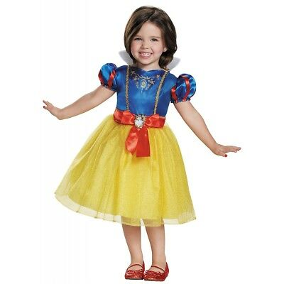 Snow White Costume Disney Princess Halloween Fancy Dress
