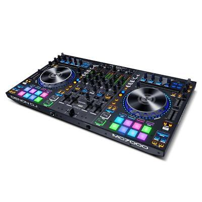Denon MC7000 | 4-Deck DJ Controller mit zwei USB Audio Interfaces | SERATO DJ