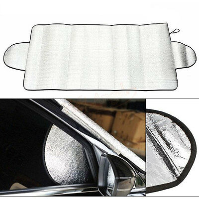 Universal Portable Car Windshield Anti Snow Frost Ice Dust Shade Cover Protector