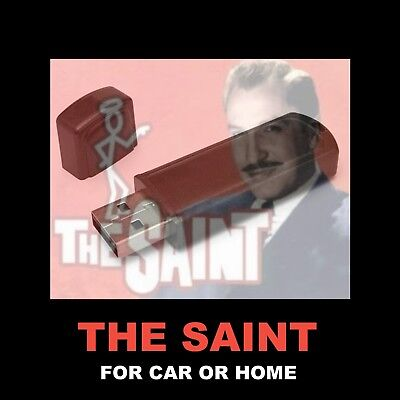 Enjoy The Saint In Your Car Or Home. 60 Old Time Radio Detective Shows!