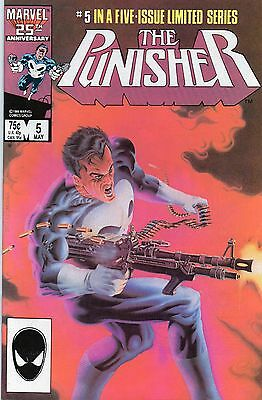 The Punisher #5 (May 1986) Nm 9.4