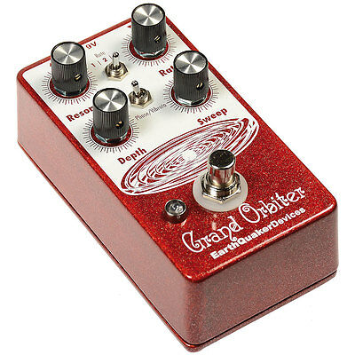 EarthQuaker Devices Grand Orbiter V2 Phase Machine Guitar or Bass Effect Pedal