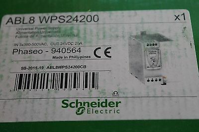 Schneider Electric Phaseo 940564 ABL8 WPS24200 24VDC 20A Power Supply-NEW IN BOX