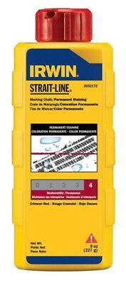 Straight Line Straight Line Staining Chalk Permanent Red 8 Oz