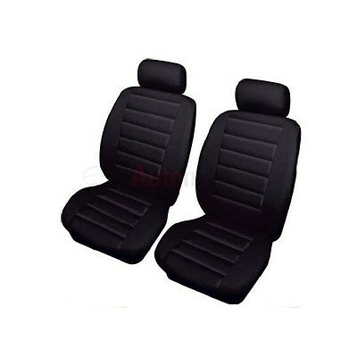 Mercedes-Benz B-Class  B180 CDI AMG Line  5d 2016LEATHER SEAT COVERS FRONT BLACK