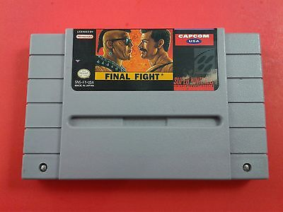 Final Fight [Game Only] (Super Nintendo SNES) Cleaned, Tested & Working