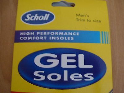 Scholl Gel Insoles For Men
