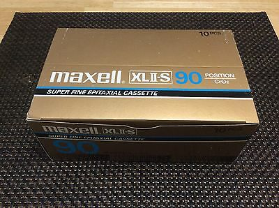 MAXELL  XLII-S 90 cassette tapes all SEALED and brand new JAPAN